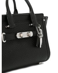 COACH - Black Double Handle Tote Bag - Lyst