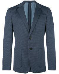 Prada   Blue - Two-button Blazer - Men - Polyamide/spandex/elastane/wool - 50 for Men   Lyst