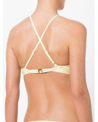 Evarae - Multicolor Abstract Print Bikini Top - Lyst