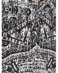 Evarae - Black Printed Halter Neck Jumpsuit - Lyst