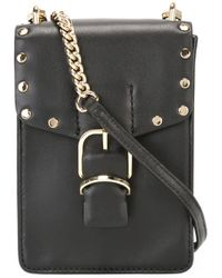 Rebecca Minkoff | Black Studded Trim Clutch Bag | Lyst