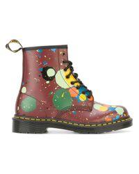 Dr. Martens | Multicolor - Floral Print Boots - Women - Cotton/leather/rubber - 36 | Lyst