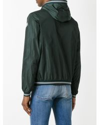 Moncler - Green Hooded Lightweight Jacket for Men - Lyst