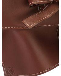 Loewe - Brown - Obi Tie Belt - Women - Lamb Skin - S - Lyst