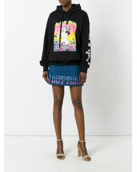 Olympia Le-Tan - Black Did You Get Your Pill Hoodie - Lyst
