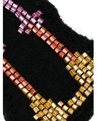 Olympia Le-Tan - Black O Bag Patch - Lyst