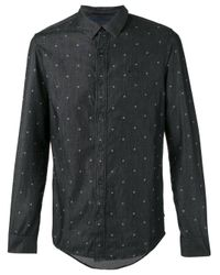 Calvin Klein Jeans | Gray Printed Shirt for Men | Lyst