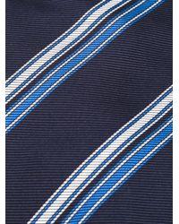 Etro | Blue Striped Tie for Men | Lyst