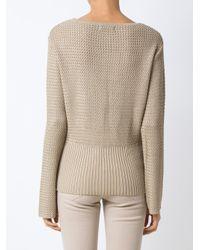 Egrey - Natural Knit Top - Lyst