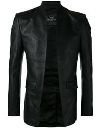 Unconditional | Black Cut Away Jacket for Men | Lyst