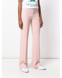 P.A.R.O.S.H. Pink Skinny Fit Trousers