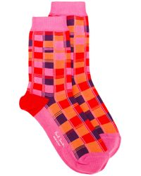 Paul Smith | Squared Effect Socks | Lyst