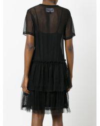 Nicopanda - Black Sheer T-shirt Dress - Lyst
