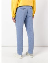 Soulland - Blue Chino Trousers for Men - Lyst