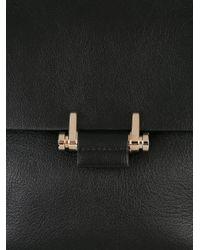Lanvin - Black Mini Essential Bag - Lyst