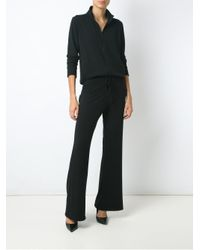 Olympiah | Black Flared Trousers | Lyst