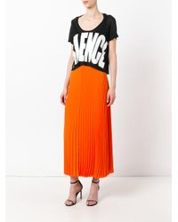Haider Ackermann - Black - Short Sleeved Crop Top - Women - Cotton/nylon/rayon - Xs - Lyst