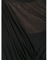 Rick Owens Lilies - Black - Classic Top - Women - Cotton/viscose - 42 - Lyst