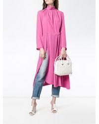 Balenciaga | White - 'blanket Matelasse' Shoulder Bag - Women - Leather - One Size | Lyst