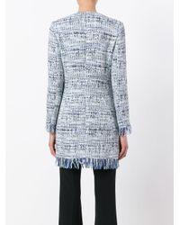 Tagliatore - Blue Doris Tweed Jacket - Lyst