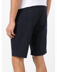 Wooyoungmi - Blue Belted Shorts for Men - Lyst