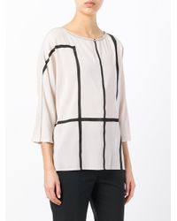 Fabiana Filippi - Multicolor Striped Top - Lyst