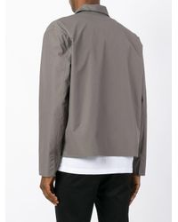 Jil Sander | Gray Buttoned Jacket for Men | Lyst