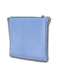 Stella McCartney - Blue Ice-cream Embroidered Surf Falabella Bag - Lyst