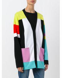 Emilio Pucci - Multicolor Colour Block Cardigan - Lyst