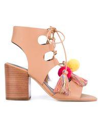 Rebecca Minkoff   Multicolor 'calissa' Heeled Sandal   Lyst