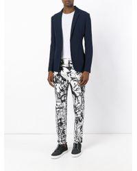 Emporio Armani - Blue Multi-pockets Blazer for Men - Lyst