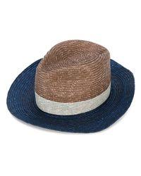 Paul Smith   Blue Contrast Panels Hat for Men   Lyst
