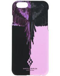 Marcelo Burlon - Black Iphone 6/6s Case - Lyst