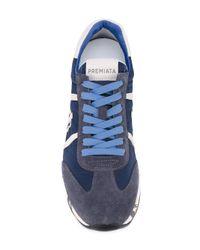 Premiata - Blue Eric Sneakers for Men - Lyst