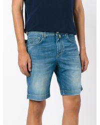 Jacob Cohen | Blue Denim Shorts for Men | Lyst