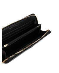 Tory Burch - Black Zip Purse - Lyst