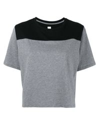 Sàpopa | Black Panelled T-shirt | Lyst