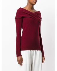 Emilio Pucci - Purple Cross Front Jumper - Lyst