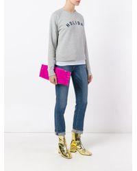 MM6 by Maison Martin Margiela - Pink Clutch Bag - Lyst