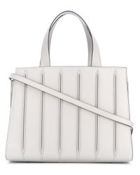 1a1eea5f5193 Lyst - Max Mara Whitney Tote Bag in Gray