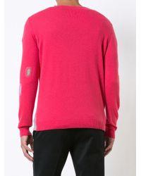 Avant Toi | Pink Distressed Jumper for Men | Lyst