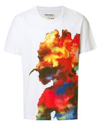Henrik Vibskov | White Inky Rainbow T-shirt for Men | Lyst