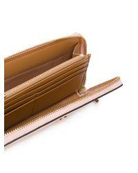 Tory Burch | Pink All Around Zip Wallet | Lyst