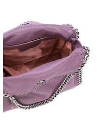Stella McCartney - Purple Mini Falabella Tote - Lyst