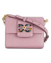 Dolce & Gabbana - Pink Dg Millennials Shoulder Bag - Lyst