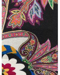 Etro Multicolor Paisley Print Jumper