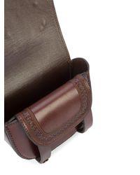 Ulla Johnson | Brown Embellished Shoulder Bag | Lyst