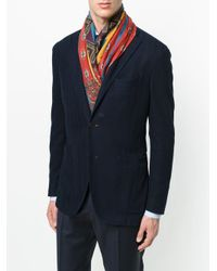 Etro - Multicolor Paisley Printed Scarf for Men - Lyst