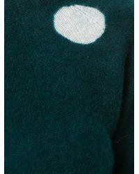 Suzusan | Green Polka Dot Jumper | Lyst