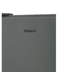 Cerruti 1881 - Gray Slim Clutch Bag for Men - Lyst